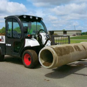 auger attachment for excavators, telehandlers, skidsteers