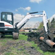 Bobcat E55 excavator – sales, rentals, South Africa