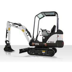 Bobcat E14 excavator - sales, rentals, South Africa