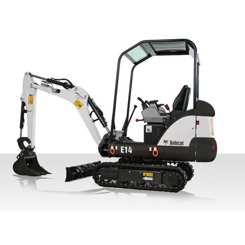 Bobcat E14 excavator – sales, rentals, South Africa