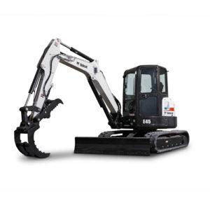 Bobcat E45 excavator - sales, rentals, South Africa