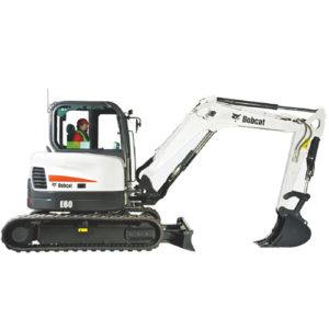 Bobcat E60 excavator - sales, rentals, South Africa