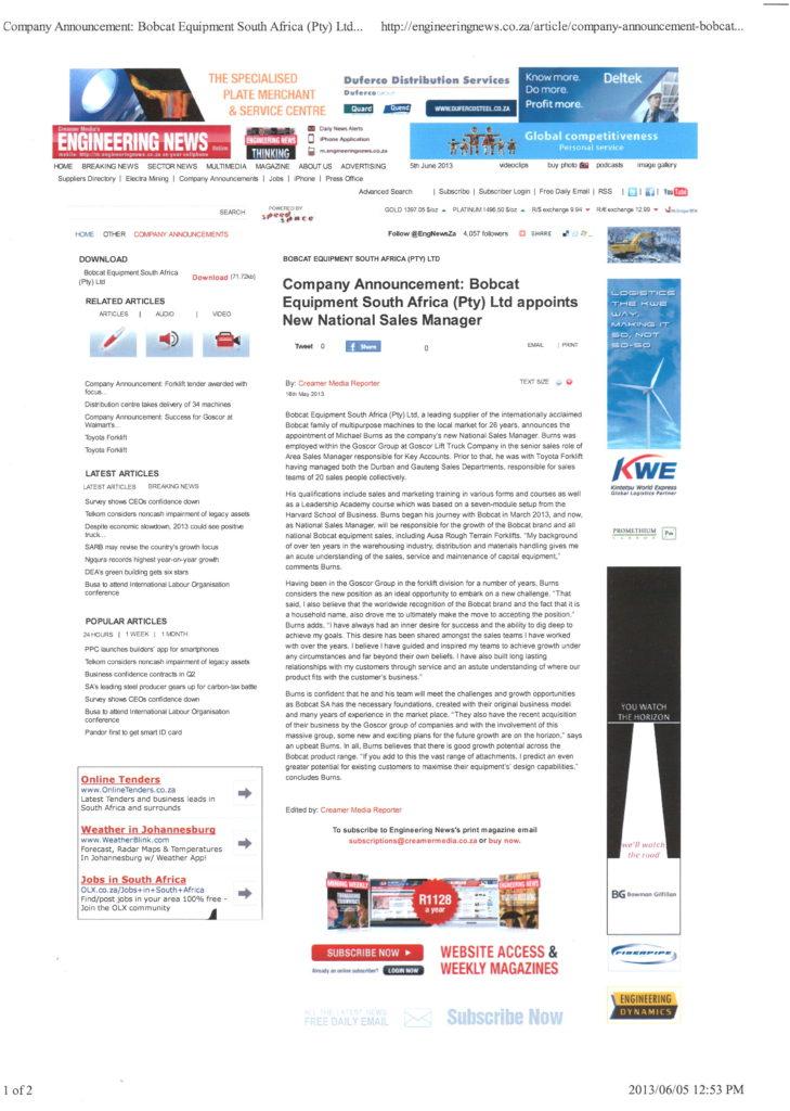 engineering_news_online_16_may_2013_-_bobcat_michael_burns_national_sales_manager_at_bobcat