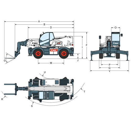Telescopic Handlers from Bobcat South Africa