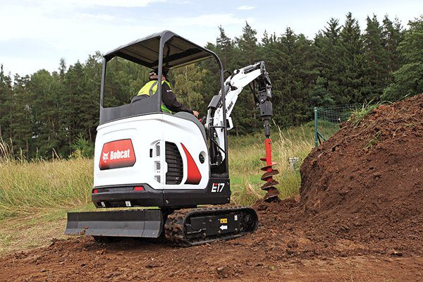 Bobcat E17 excavator – sales, rentals, South Africa