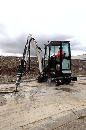 Bobcat E19 excavator – sales, rentals, South Africa