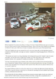 ABR Move (Online) Aug 2015 - Bobcat SA _Boosted its Fleet with additional 10 New Vehicles (1)