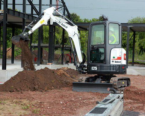Bobcat E25 excavator – sales, rentals, South Africa