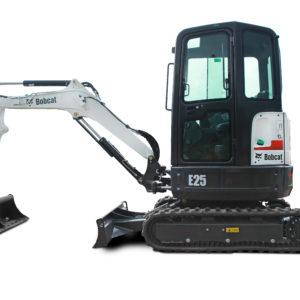 Bobcat E25 excavator - sales, rentals, South Africa