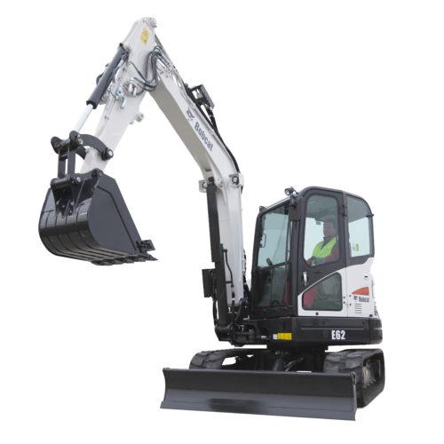 Bobcat E62 excavator – sales, rentals, South Africa