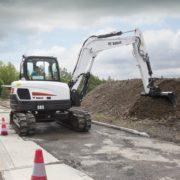 Bobcat E85 excavator – sales, rentals, South Africa