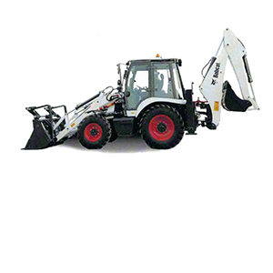 Bobcat Tractor Loader Backhoe