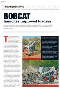 thumbnail of Hire SA – Bobcat launches improved loaders – 1 Nov 2016