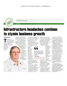 , Infrastructure to stymie business growth
