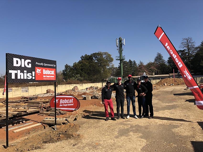 , Bobcat digs in deep on Mandela Day to help Manger Care Centre