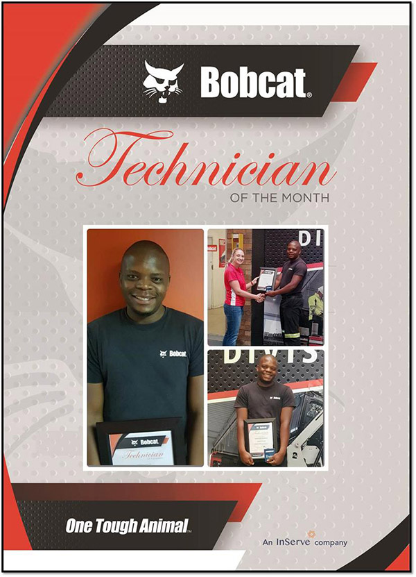 , Technician of the month 2018
