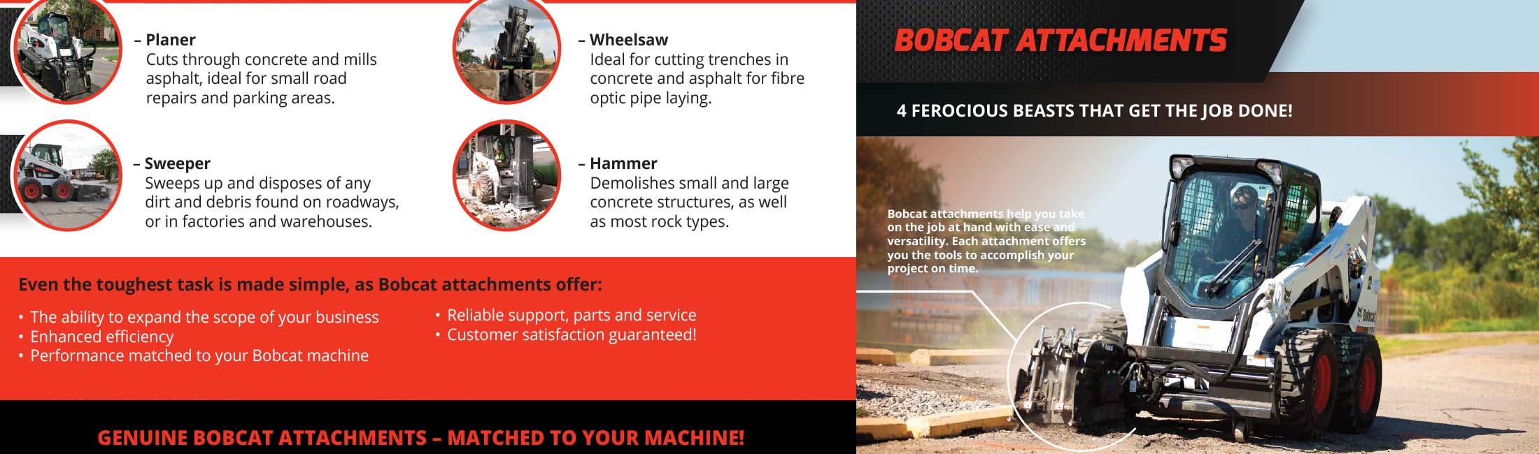 Bobcat Machines for Sale | Bobcat Construction Machines | Bobcat SA