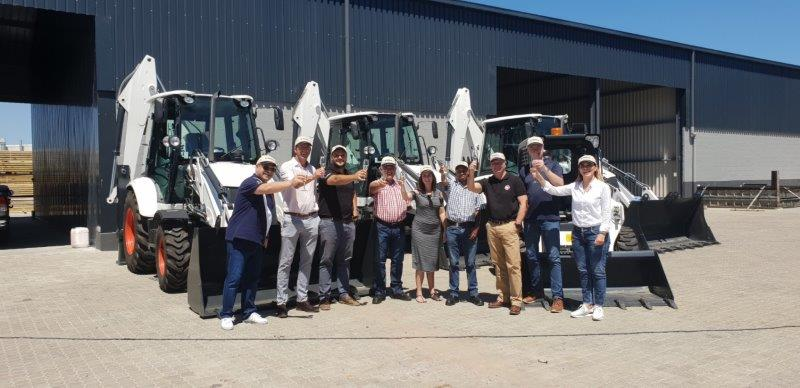 , Mpeke Plant Hire acquires four machines from Bobcat Cape Town