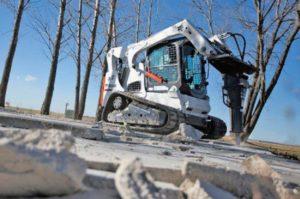 , Bobcat HB880 breaker is tough enough for any demolition work