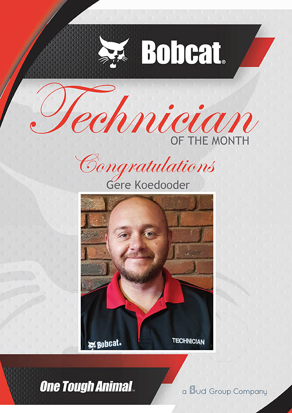 , Technician of the month 2020